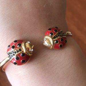 Kate Spade ladybug bracelet 🐞